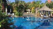 Asia gardens pool