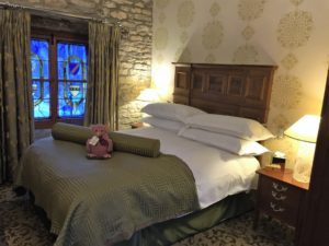 A 'cosy' category room in one of the cottages at The Manor Hotel