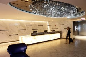 Chicago's new Polaris lounge