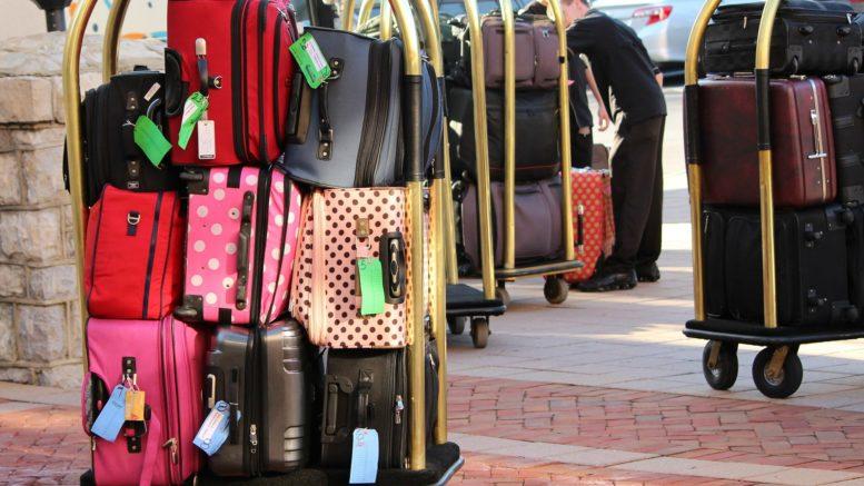 luggage trolley hotels.com