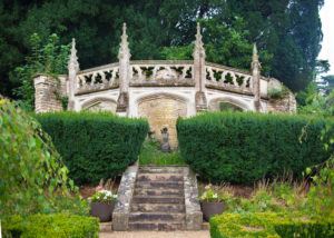 The gardens at the Manor