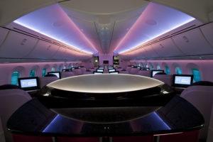 qatar 787 entrance