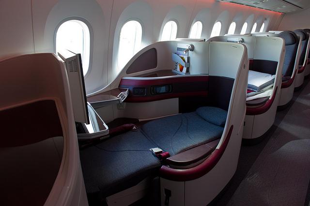qatar 787 seat