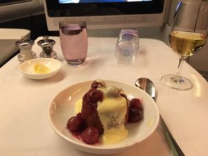 BA first class review B777