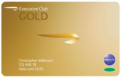 BA Executive club avios