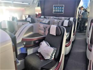 Qatar business class review B787 A350