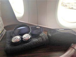 Qatar B787 A350 business class review