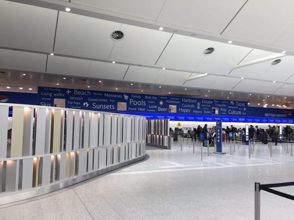 BA club europe review gatwick