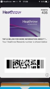 heathrow rewards