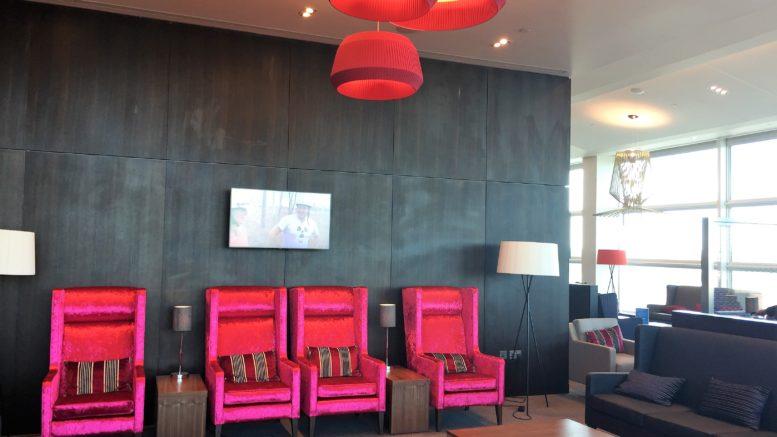 BA new club lounge gatwick south