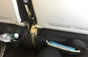 BA legroom
