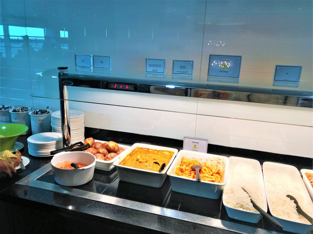 BA Club lounge Gatwick review