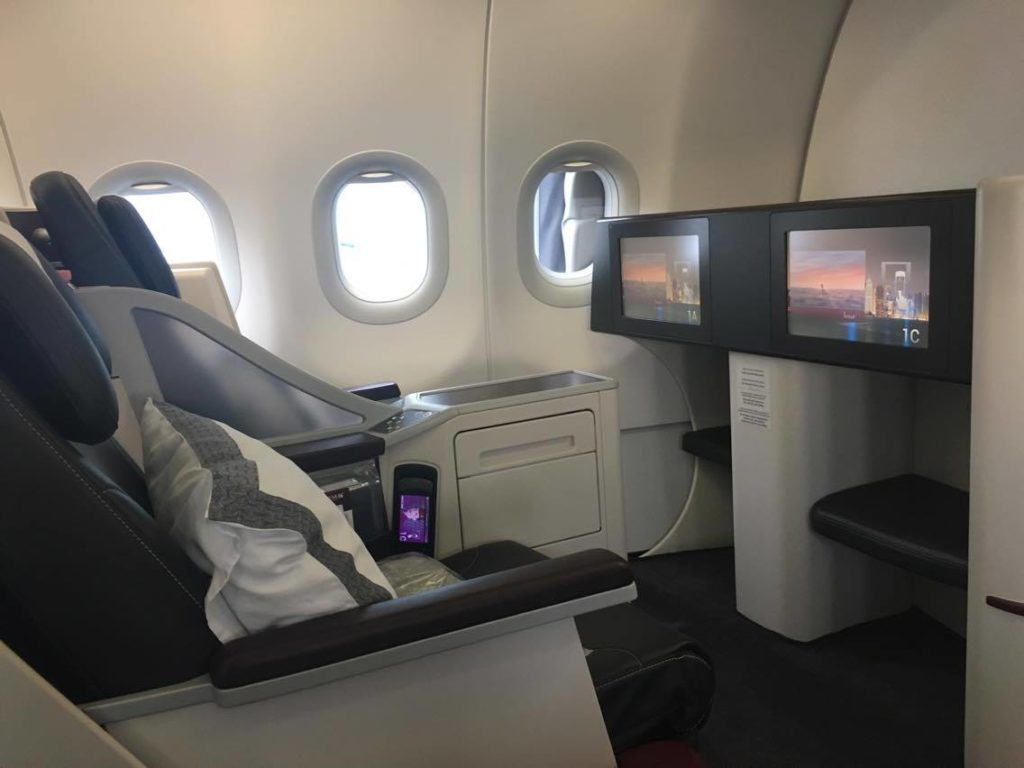 Qatar business class A319 review