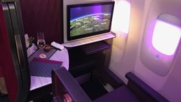 Qatar business class suite A350-900 review