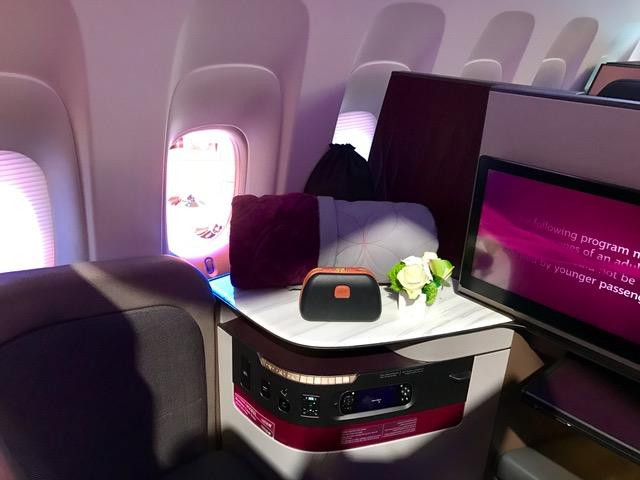 Qatar business class suite