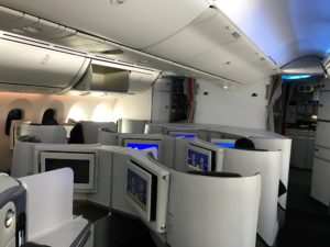 Air France B787 business class review