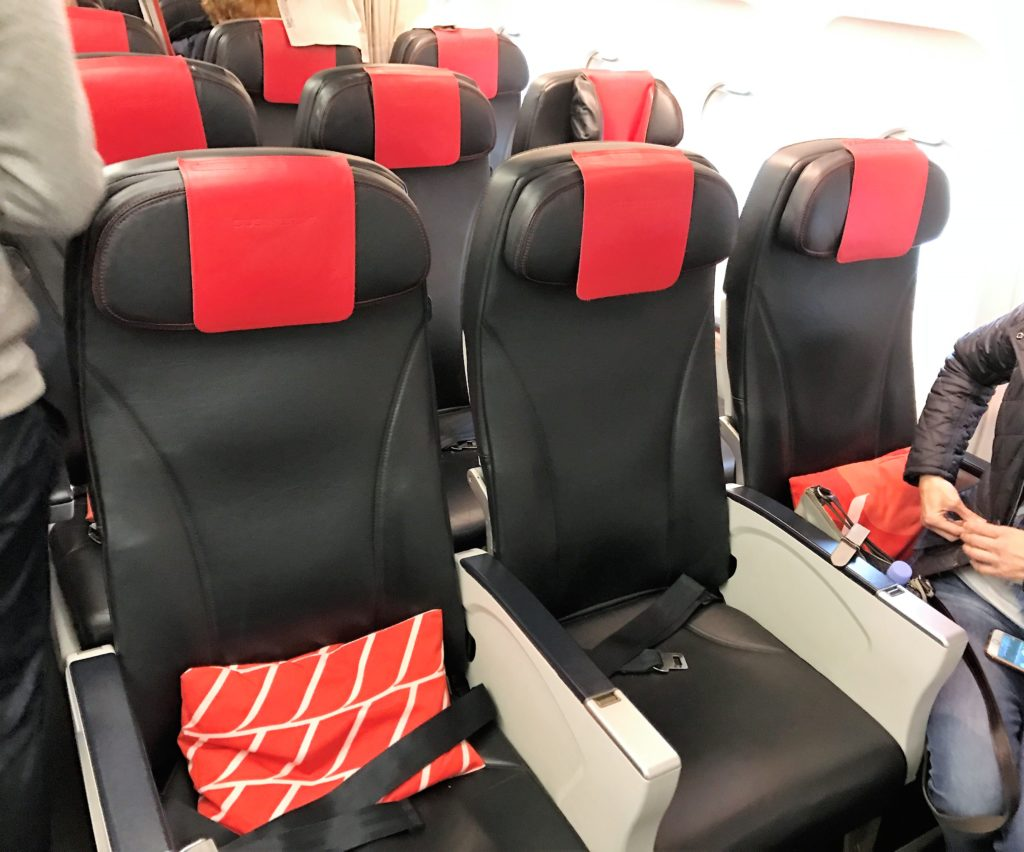 Air france A319 review business class