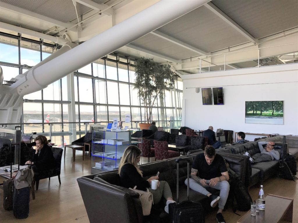 BA Heathrow club lounge review