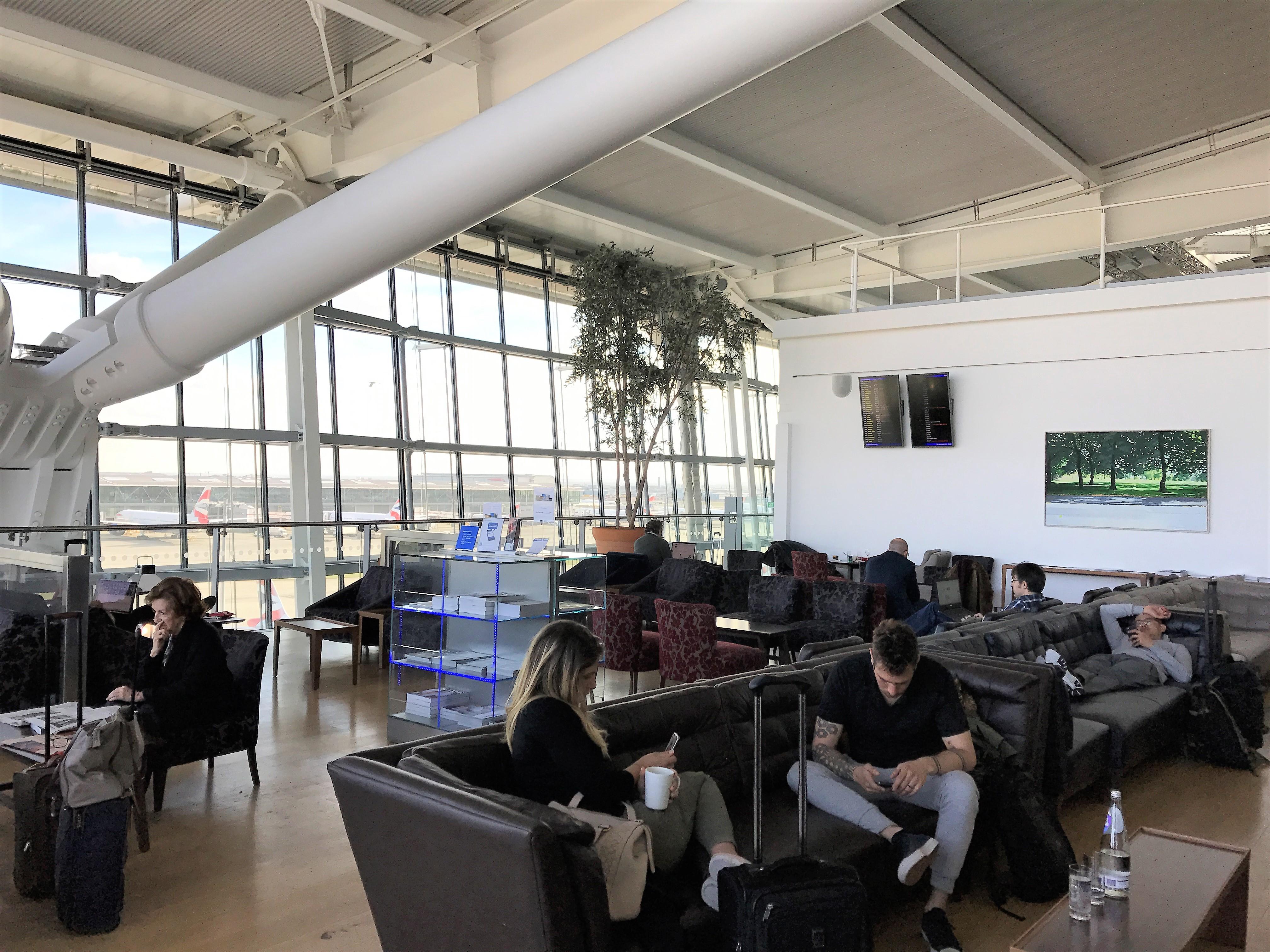 BA Heathrow club lounge review