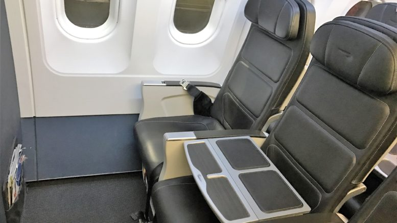Air france A320 review business class