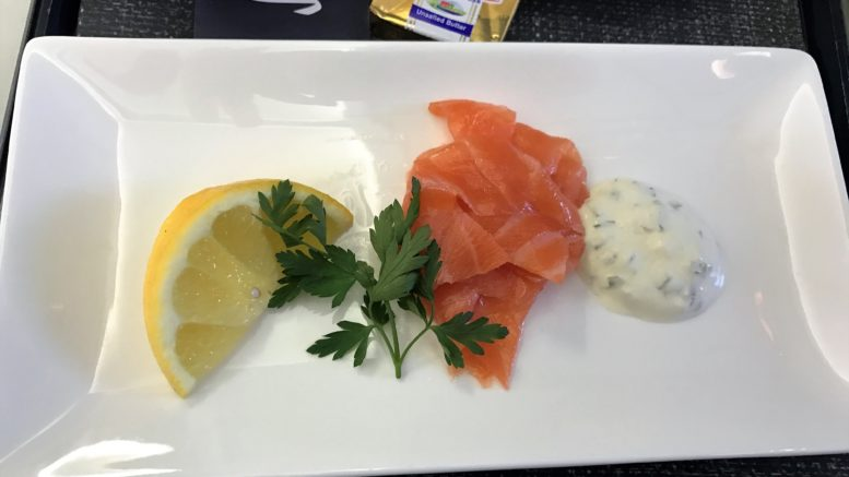 BA Club Europe new catering review