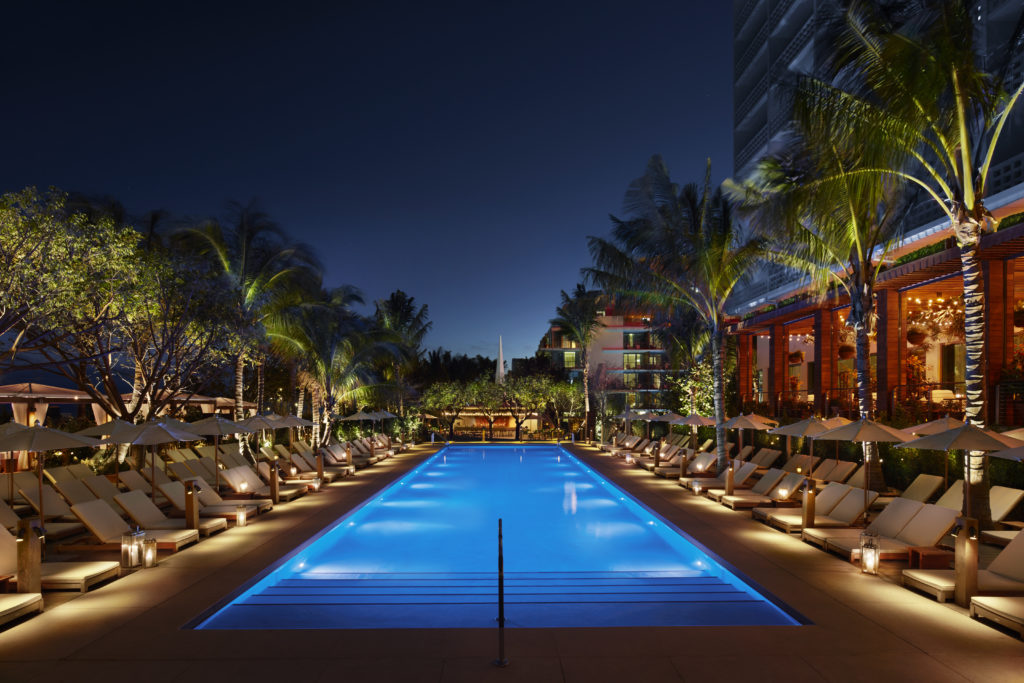 The Miami Edition Hotel Marriott Group