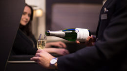 British Airways First wine