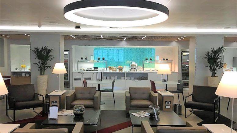 AA arrivals lounge Heathrow Terminal 3