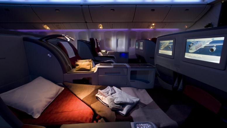 Qatar B777 review