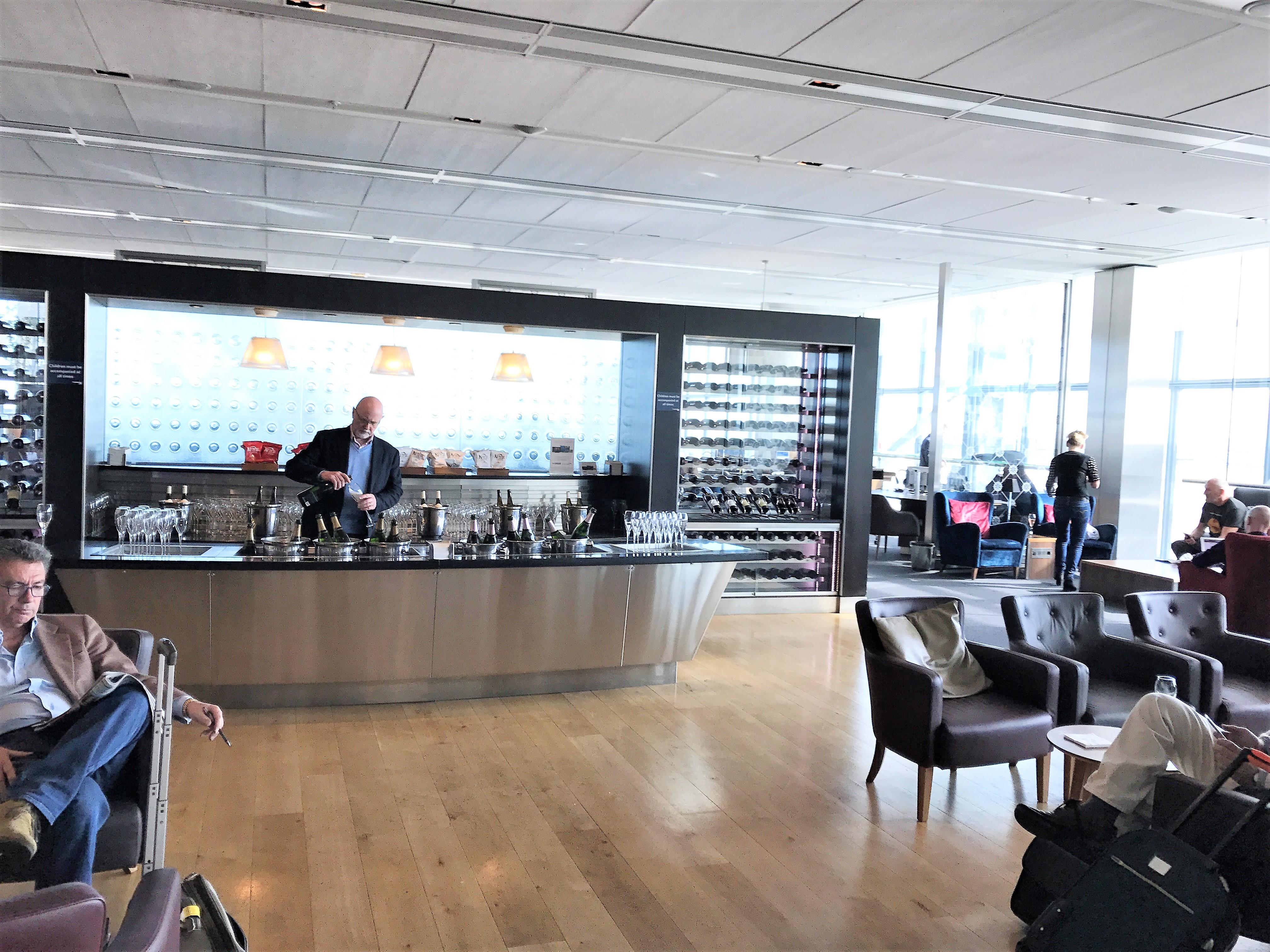 British Airways Heathrow Terminal 5 First Class Lounge