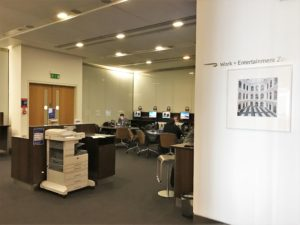 BA T5 First lounge review