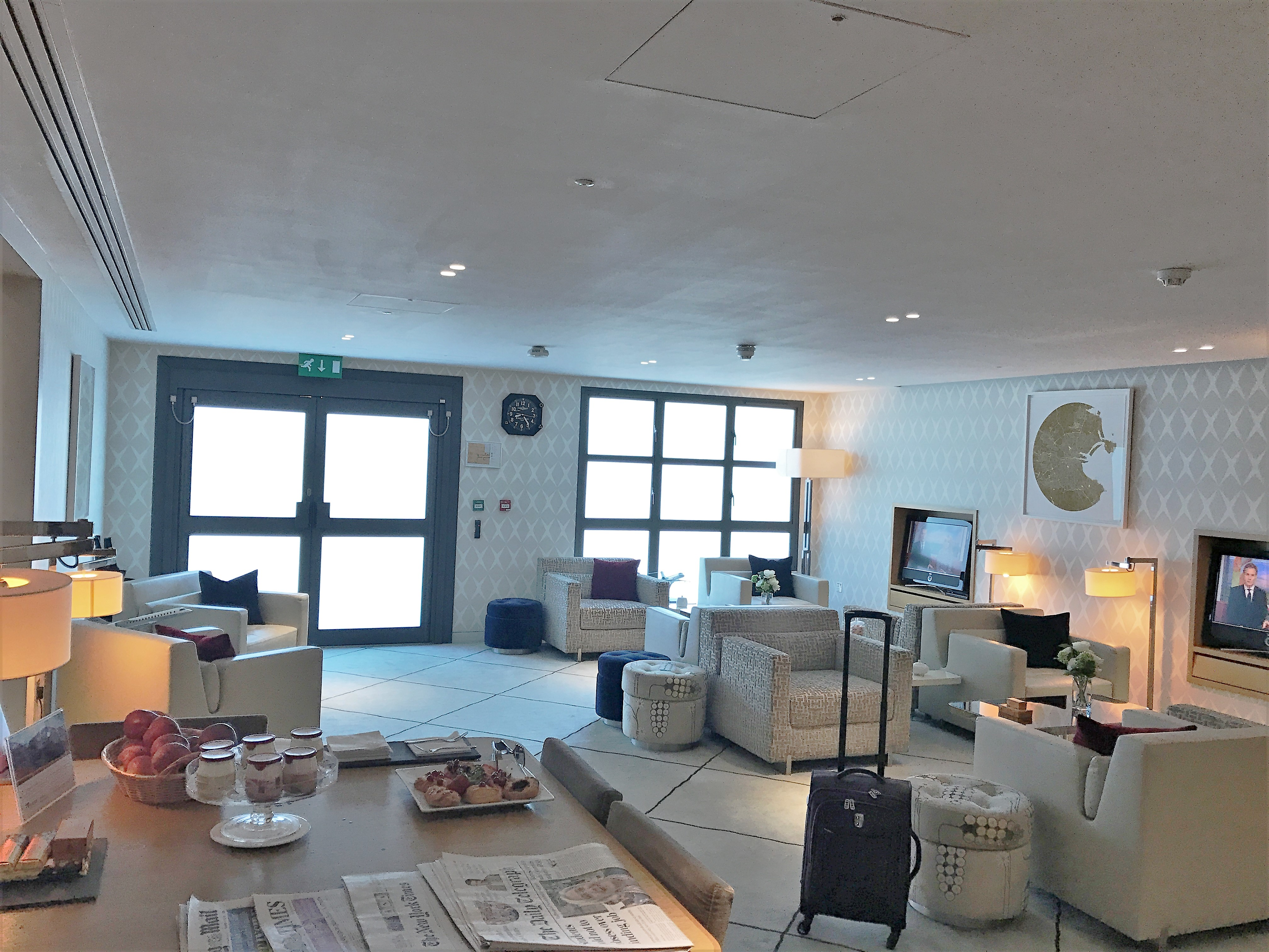 london city airport lounge review