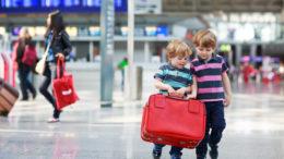 BA kids fly free