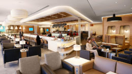 AA lounge Heathrow T3