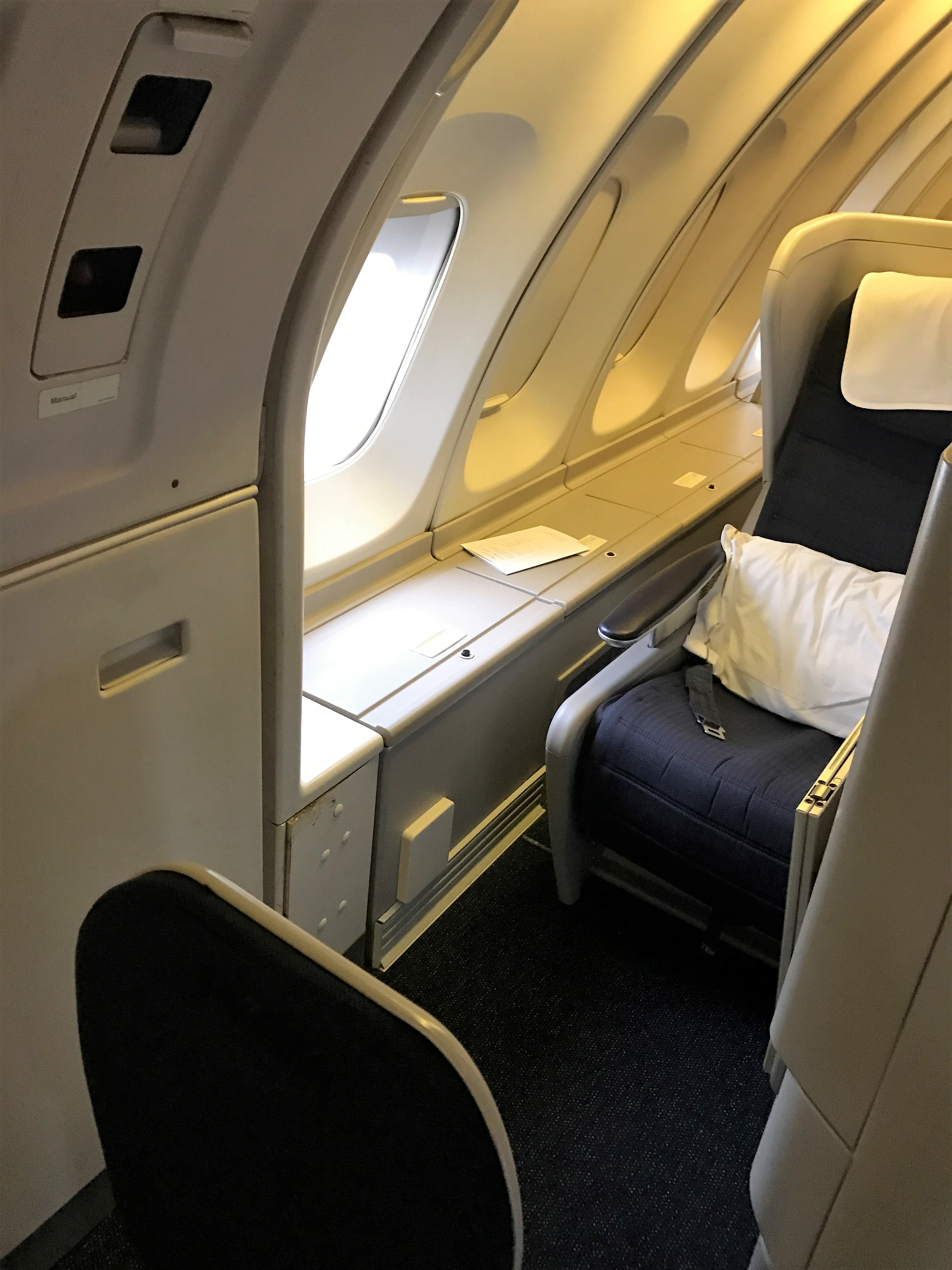 BA B747 club world review