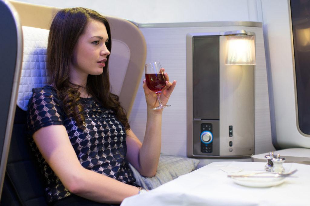 BA First class upgrade