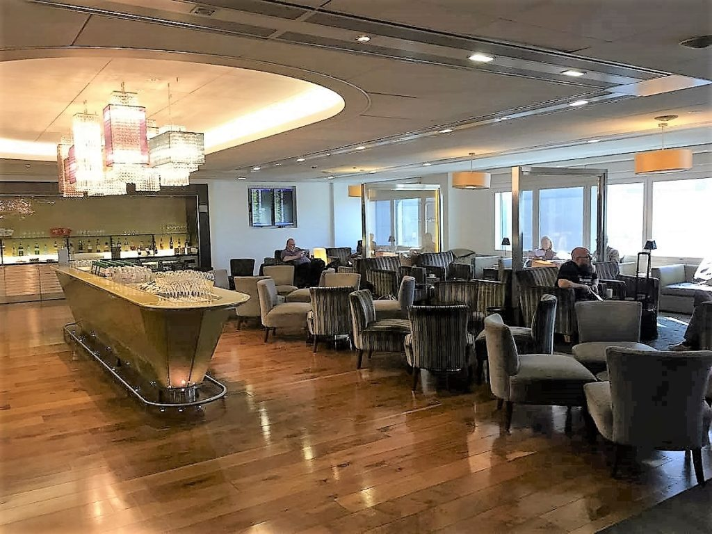 BA T3 lounge review