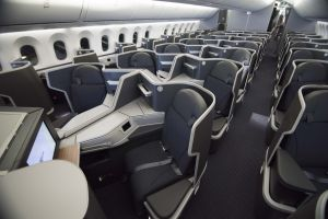 American airlines B787 business class