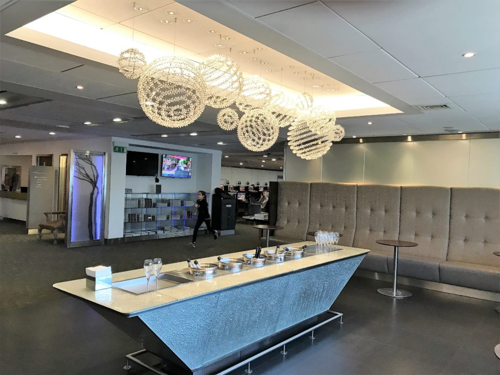 BA T3 lounge review