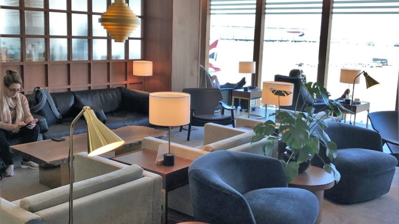 Cathay Pacific First Class lounge heathrow review