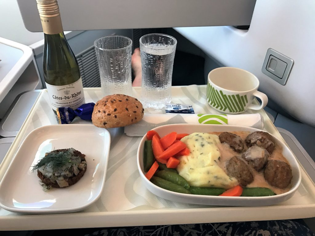 Finnair A350 business class review