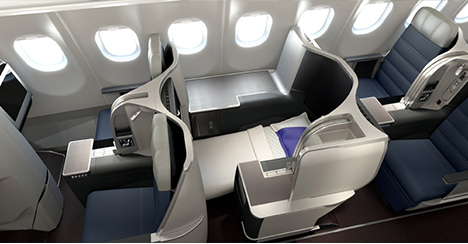 Malaysian airlines business class A350