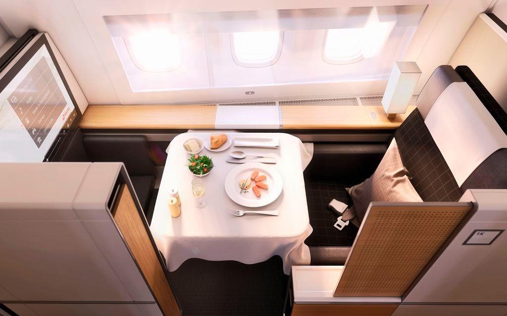 Swiss First class seat sale