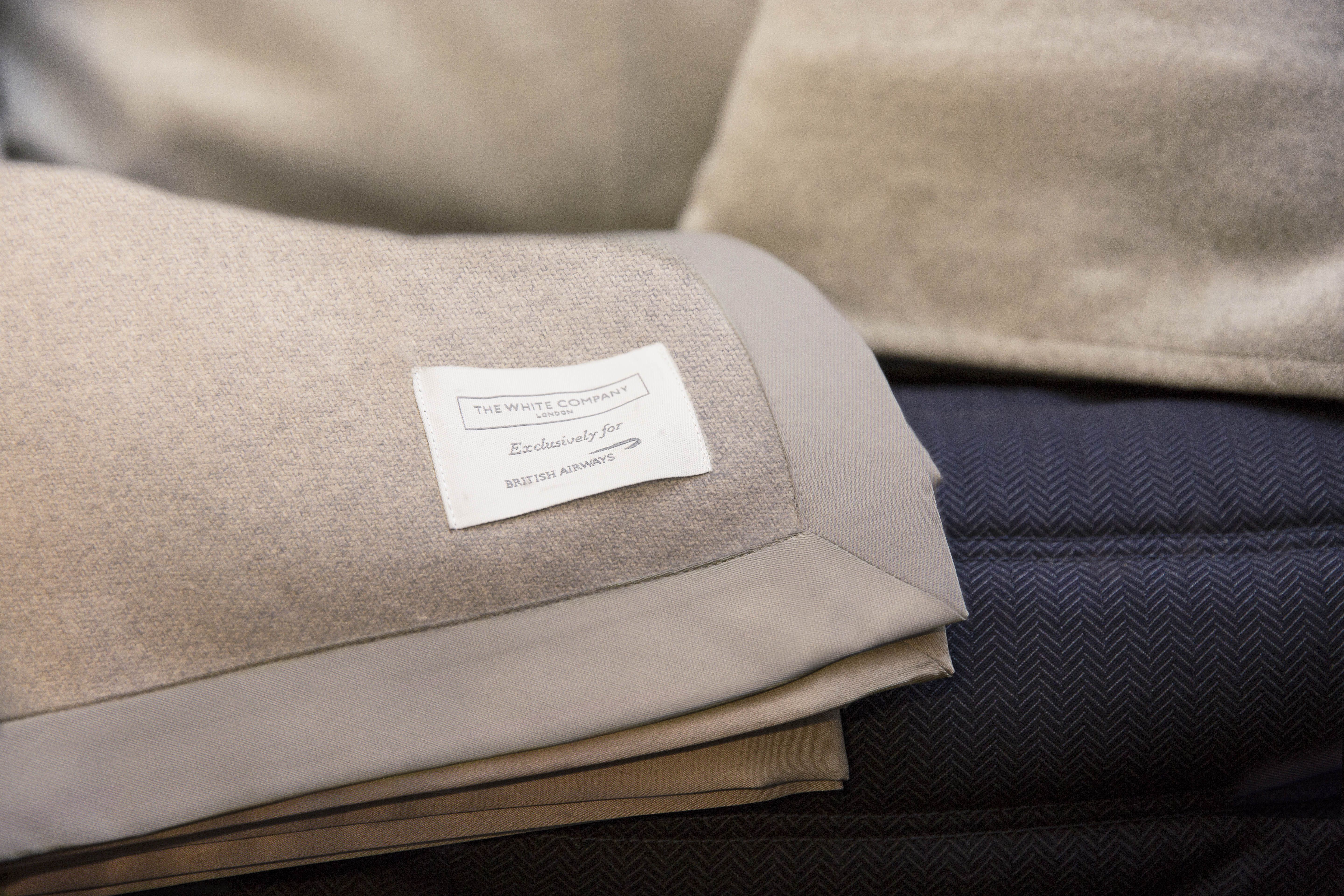 BA new Club World bedding The White Company