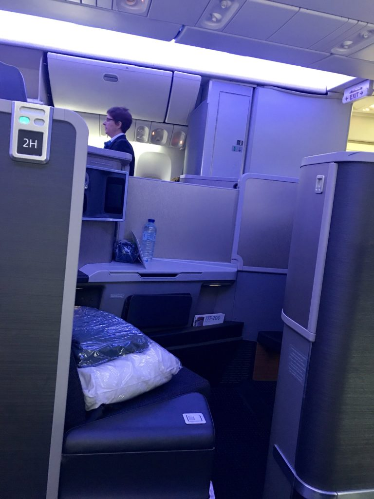 AA B777-200 business class review
