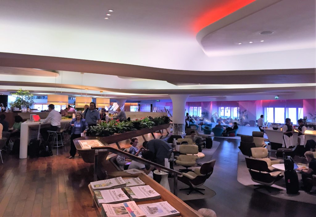 Virgin Atlantic Clubhouse Heathrow review