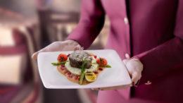 Qatar airways pre-dining