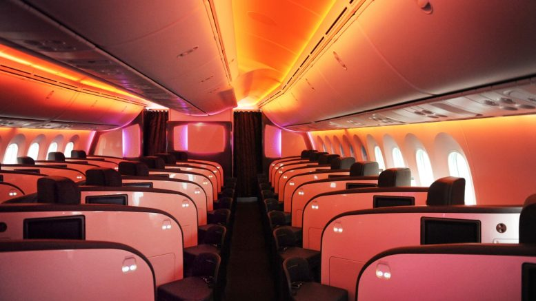 Virgin Atlantic Upper Class B787-9 review