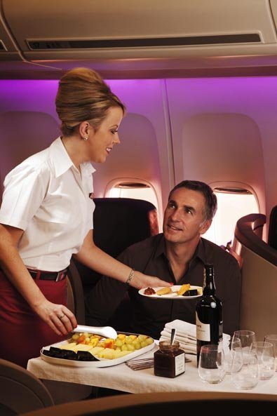 Virgin Atlantic B787 Upper class review