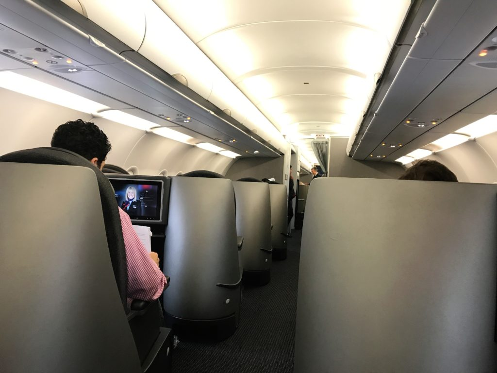 AA A321 transcon business class review